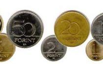 Венгерская национальная валюта